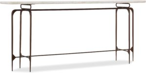 Skinny Metal Console santa barbara design center hooker furniture 5633-85001-