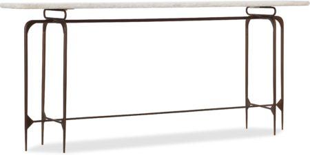 Skinny Metal Console santa barbara design center hooker furniture 5633-85001-