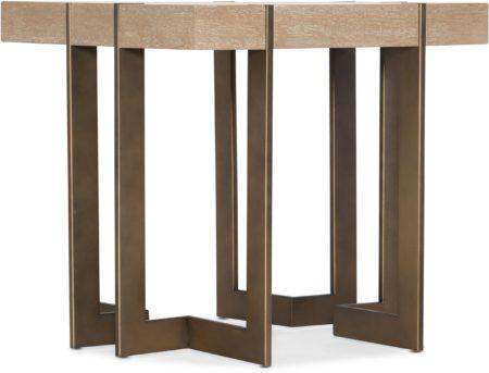Max Square End Table santa barbara design center hooker furniture 6201-80113-MULTI(