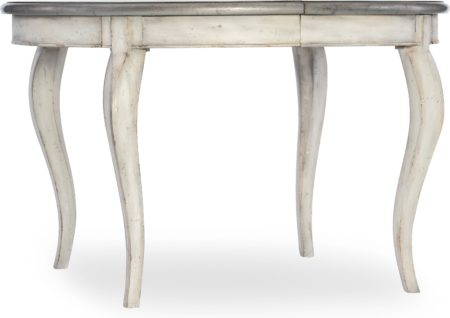 48in Round Leg Table w/leaf santa barbara design center hooker furniture 1610-75203-WH