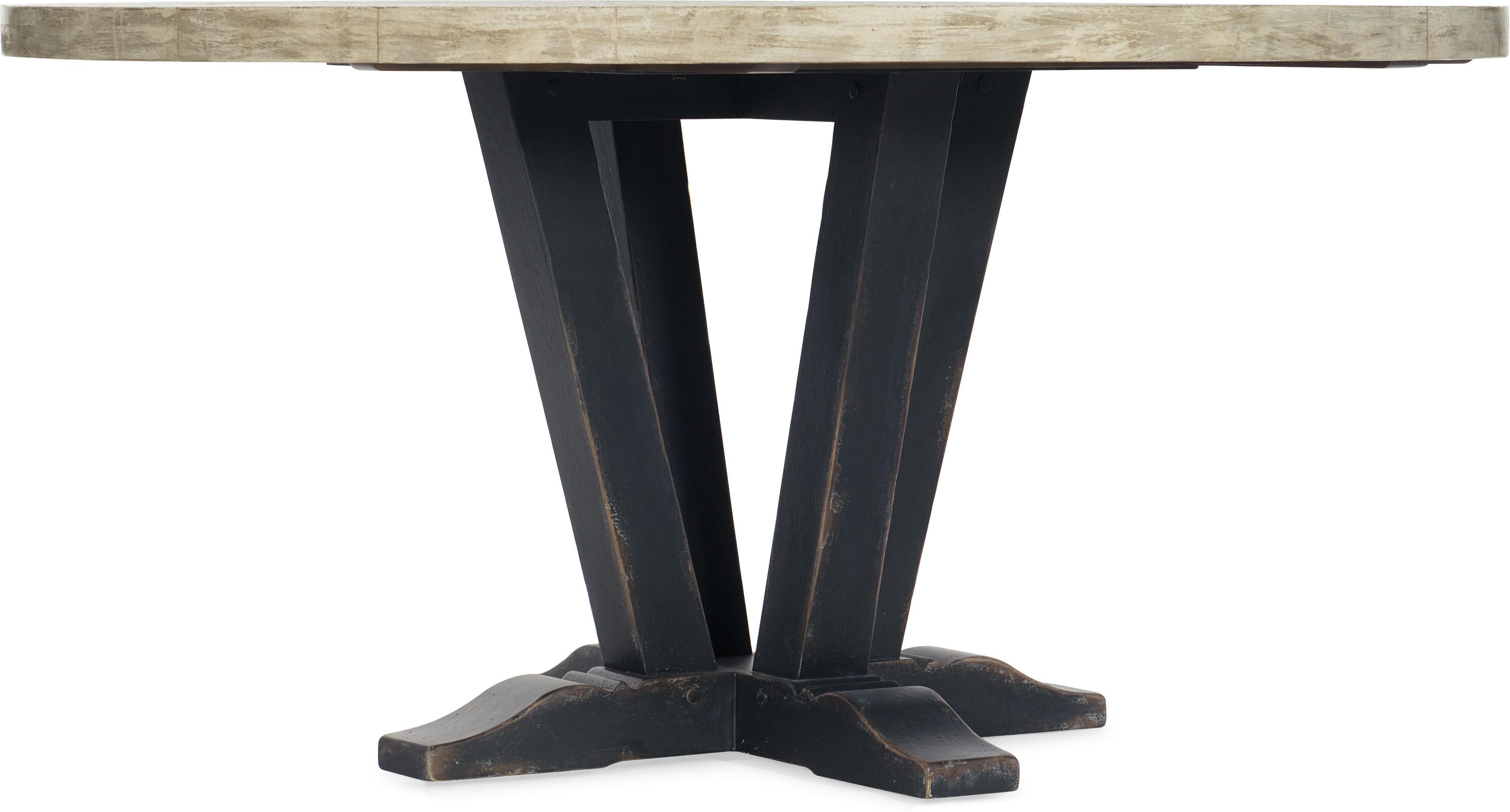 60in Round Dining Table santa barbara design center hooker furniture 5805-75203-80