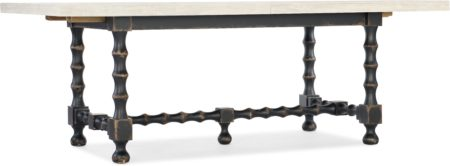 84in Trestle Table Base- Black