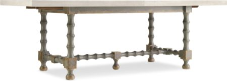 84in Trestle Table Base- Gray santa barbara design center hooker furniture 5805-75200B-95