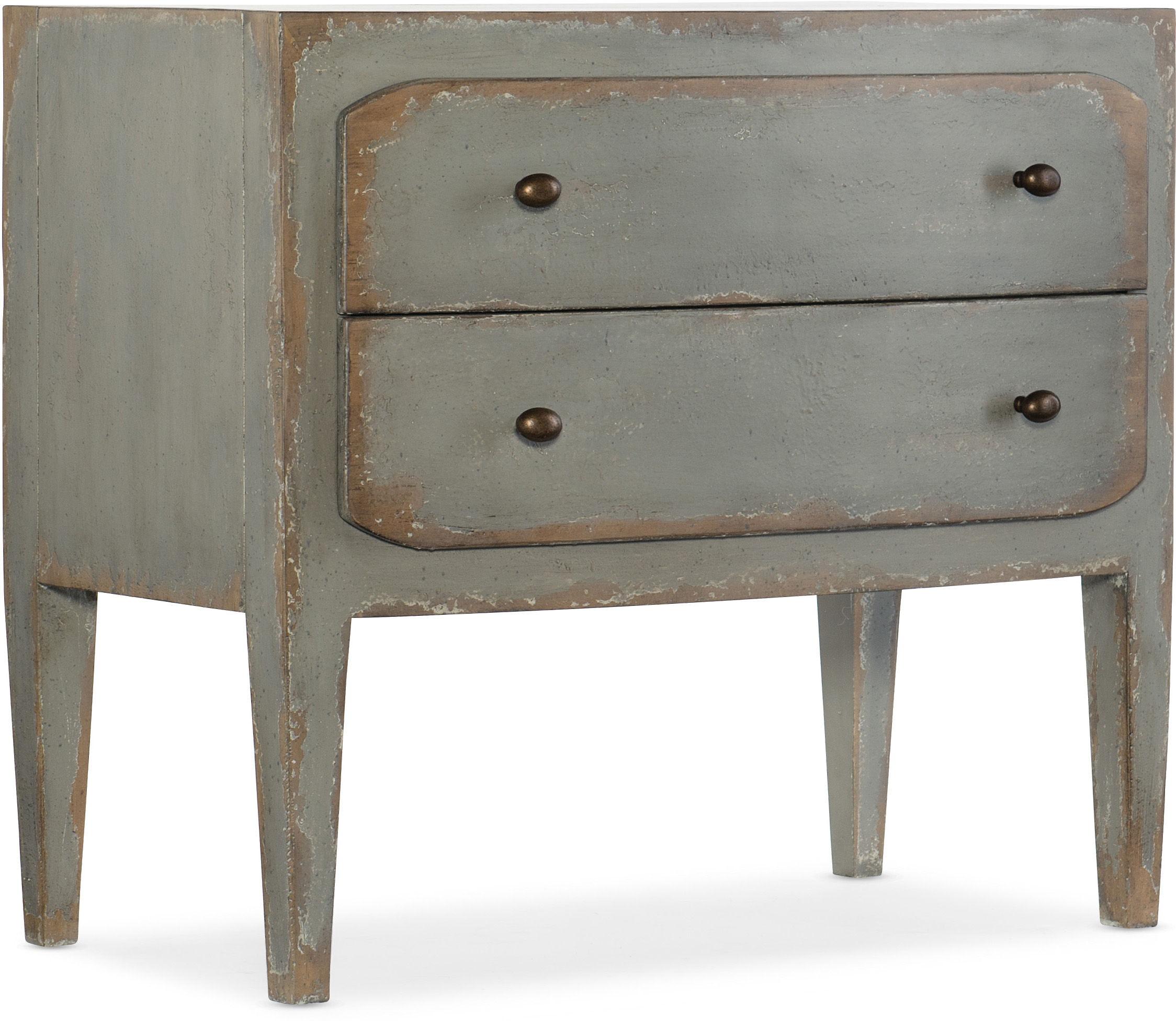 Two Drawer Nightstand santa barbara design center hooker furniture 5805-90016-95