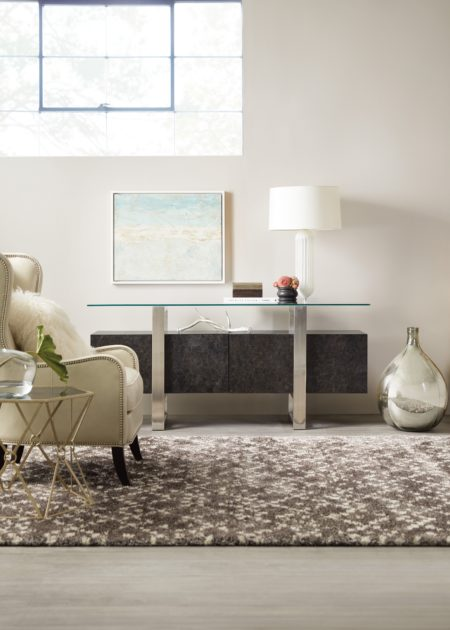 Floating Console santa barbara design center hooker furniture 5585-50003-DKW