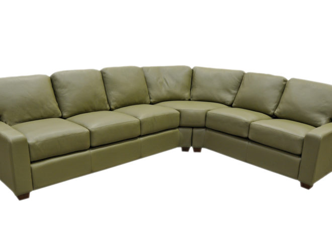 Albany Sectional by omnia leathers santa barbara design center