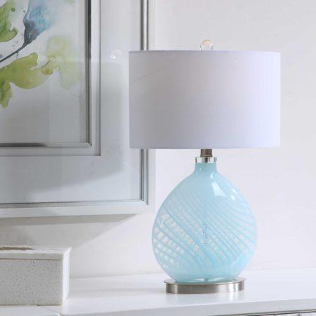 Aqual Table Lamp santa barbara design center 34089-