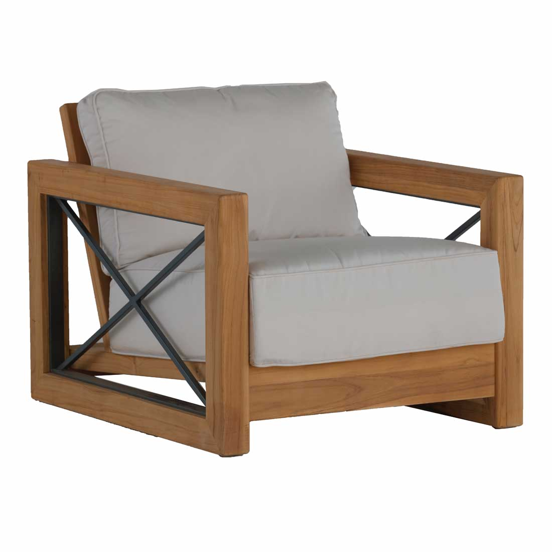 Malta Teak Lounge Chair