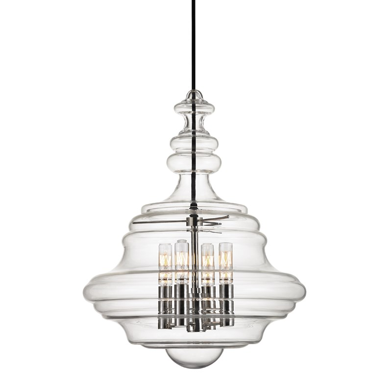 Washington 4 lt Pendant santa barbara design center -
