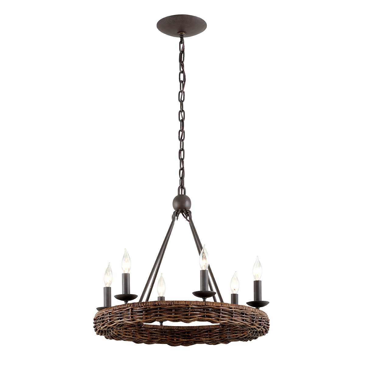 Nest 6Lt Chandelier