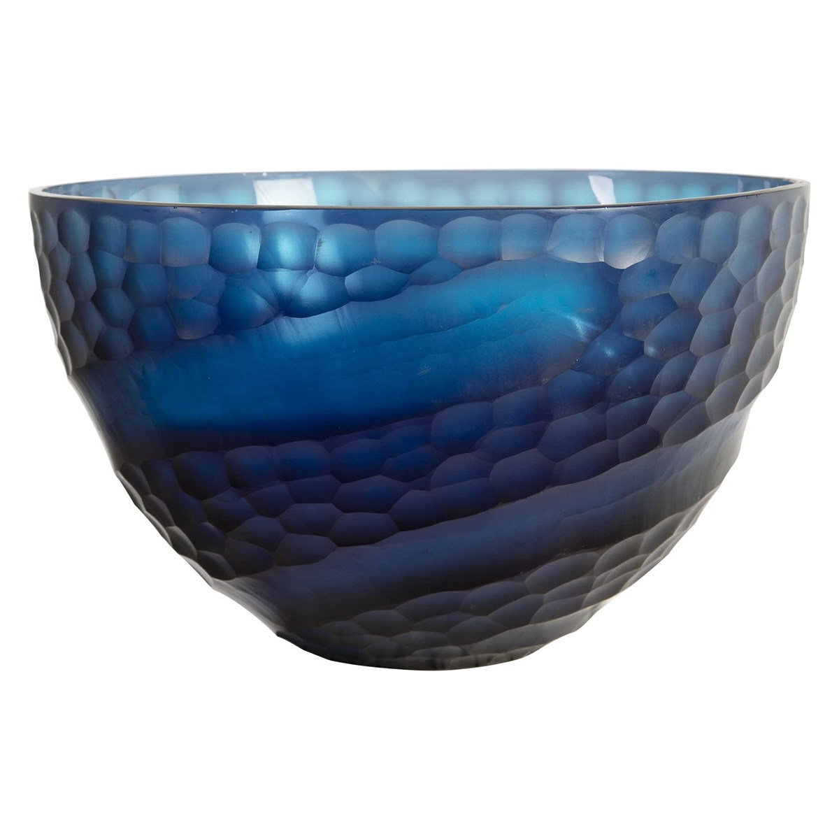 Blue Swoop Bowl