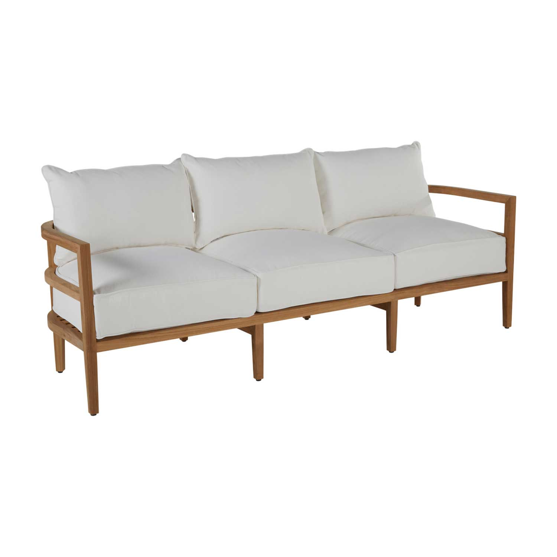 santa barbara teak sofa summer classics santa barbara design center