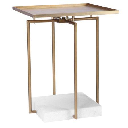Square Deal Side Table santa barbara design center-