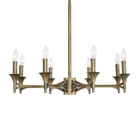 Brant, 8 Lt Chandelier santa barbara design center -