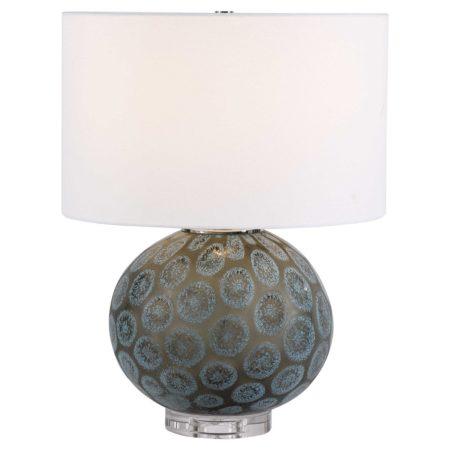 Agate Slice Table Lamp santa barbara design center -