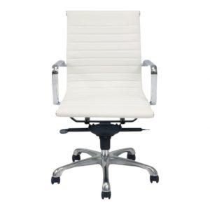 Ozzie Low Back Office Chair - White santa barbara design center -
