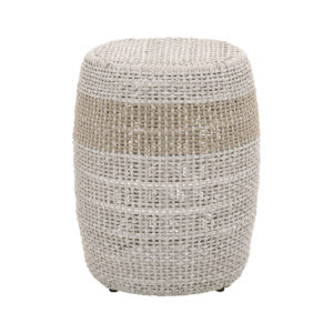 Loom Accent Table - Taupe_1-01
