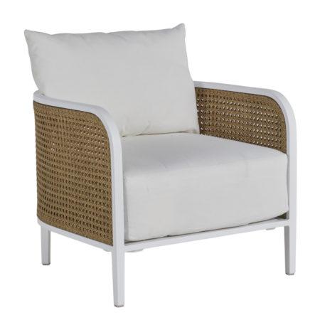 Havana White Lounge Chair