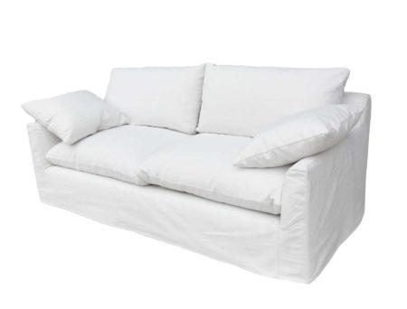 Taylor Tight Slip-Covered Sofa