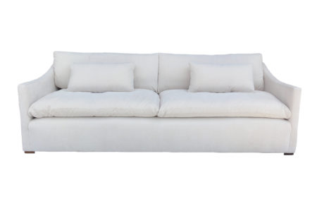 Cyrus Cloud Slopped Arm Sofa santa barbara design center -